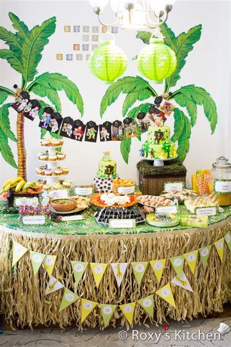 1st birthday party ideas for boys best on a boy safari jungle themed birthday party 1st birthday