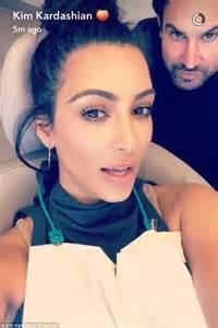 Kim Kardashian Snapchats An Emergency Call To Her Dentist