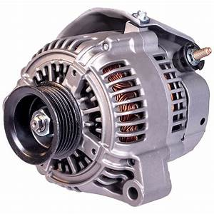 1993 Lexus Ls400 Alternator 4 0l Eng  - V8 Eng