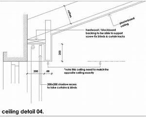 Recessed Curtain Track
