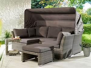 Lounge Sofa Mit Dach : plo rabida lounge set 7287670 gartenm bel ~ Bigdaddyawards.com Haus und Dekorationen