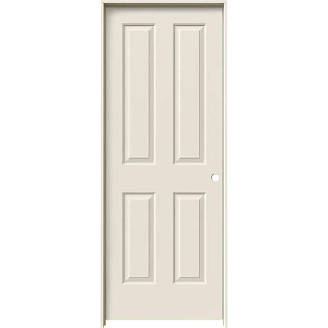 jeld wen coventry primed  panel square hollow core molded