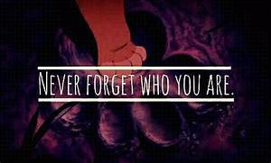 Never Forget Who You Are - The Lion King | My Muvie Quotes ...