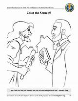 Booth Torchlighters Coloring Pages Games sketch template