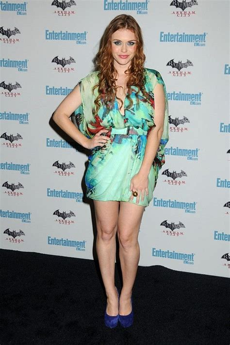 holland roden white dress holland roden from teen wolf wearing the invisible belt