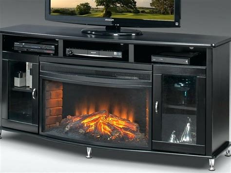 electric fireplace tv stand 70 inch 70 inch black tv stand floor swivel with mount for s 9644
