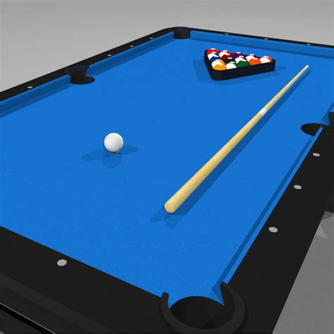 Pool Billiards C4d