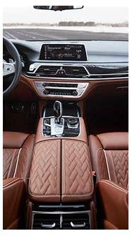 The BMW 745Le Sedan - Interior (03/2019).