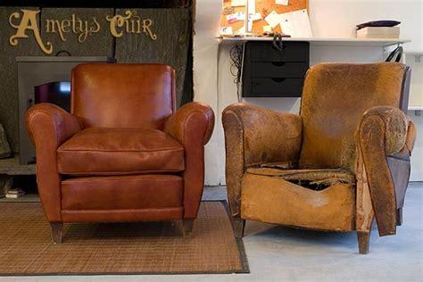 comment recouvrir un fauteuil en cuir recouvrir un canape en cuir galerie des id 233 es de design de maison