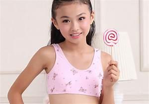 Wholesale-Bras for Kids Girl Cute Print Bra 100% Cotton ...