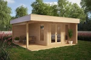 Gartenhaus Mit Lounge : modernes gartenhaus mit terrasse hansa lounge 12m 44mm 5x5 casetas de jardin 24 ~ Indierocktalk.com Haus und Dekorationen