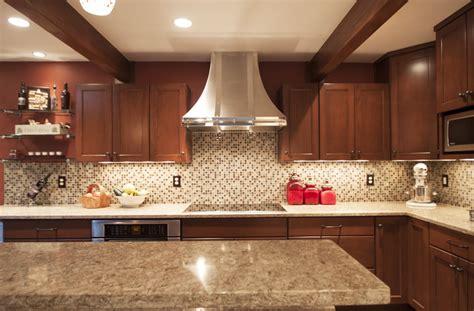 oak kitchen island with granite top cambria berkeley cabinets backsplash ideas