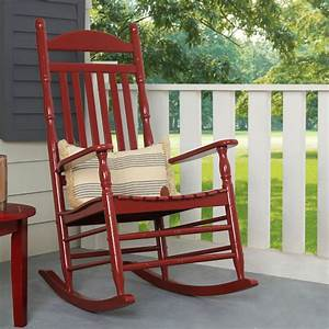 alston, porch, high, back, rocking, chair, , red, -, walmart, com