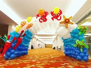 Underwater Balloon Tunnel Decoration THAT Balloons