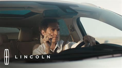 New Lincoln Car Commercial by Quot Bull Quot Matthew Mcconaughey And The Mkc Official