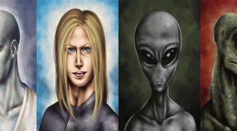 Extraterrestrial Species And Races By Work