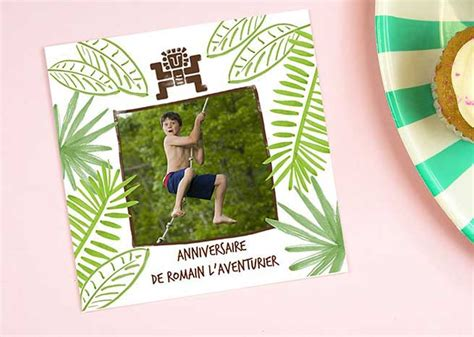 Cartes D'invitation Anniversaire
