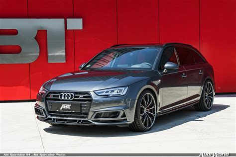 Audi S4 Hp by Ready For The Performance Class Abt Takes The Audi S4 To