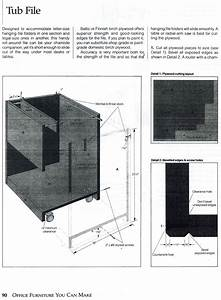 Instructions Diy File Cabinet  With Images