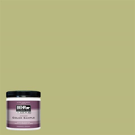 behr premium plus ultra 8 oz 400d 5 grass cloth eggshell enamel interior paint and primer in