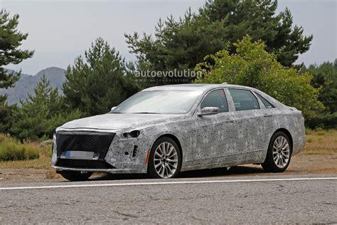 2019 Cadillac Ct6 Facelift Makes Spyshots Debut, Has