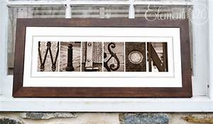 alphabet sepia letter art photography framed by With framed name letter art