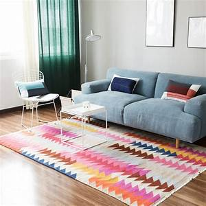 tapis pas cher design et contemporain grand tapis salon With tapis sejour pas cher