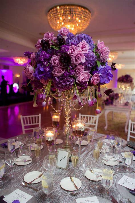 Best 25 Purple Wedding Centerpieces Ideas On Pinterest