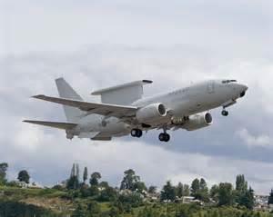 Boeing 737 AWACS Aircraft