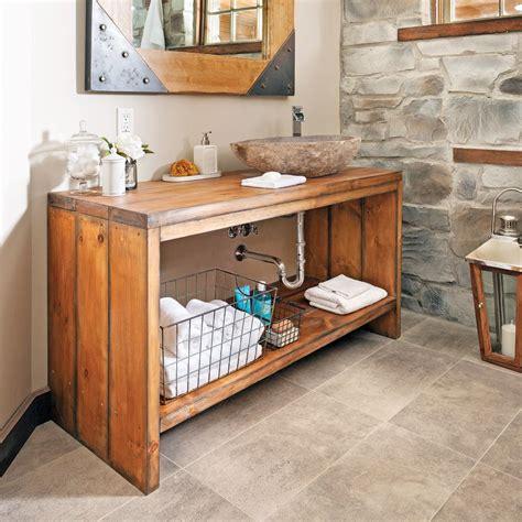 comment faire un bain de si e comment fabriquer un meuble lavabo en bois pins blancs