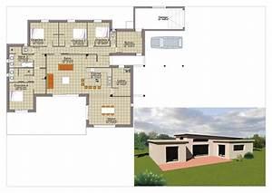 maison plain pied 110m2 With plan maison 110m2 plain pied