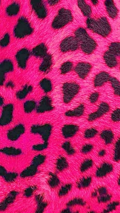 Pink Animal Wallpaper - pink leopard print iphone wallpaper background printz