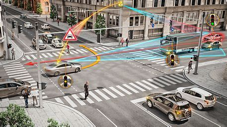 Ces 2018 Continental Contributes Intelligent Intersection
