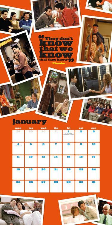friends tv series calendars ukposterseuroposters