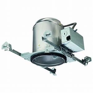 Recessed lighting loft insulation : Halo h in aluminum recessed lighting housing for