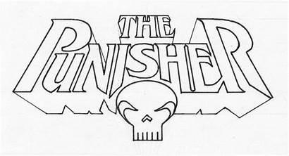Punisher Logos Nowlan Kevin Lettering