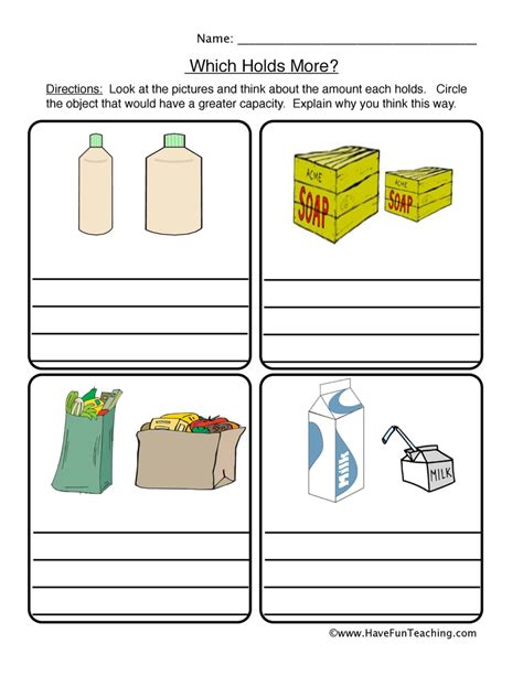 3rd grade math capacity worksheets 1000 images about