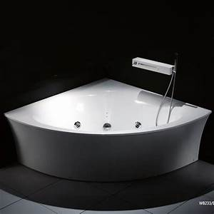 Baignoire D Angle 130x130 : la baignoire balneo rhein une baignoire d 39 angle pour ~ Edinachiropracticcenter.com Idées de Décoration