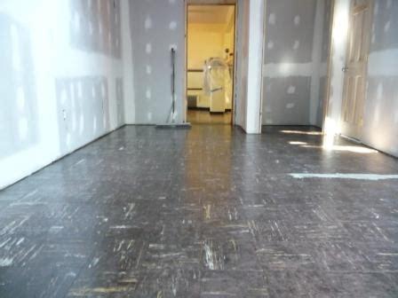 encapsulate vinyl asbestos tile safer  cheaper