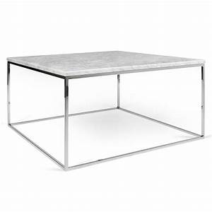 gleam white marble chrome coffee table by temahome eurway With marble and chrome coffee table
