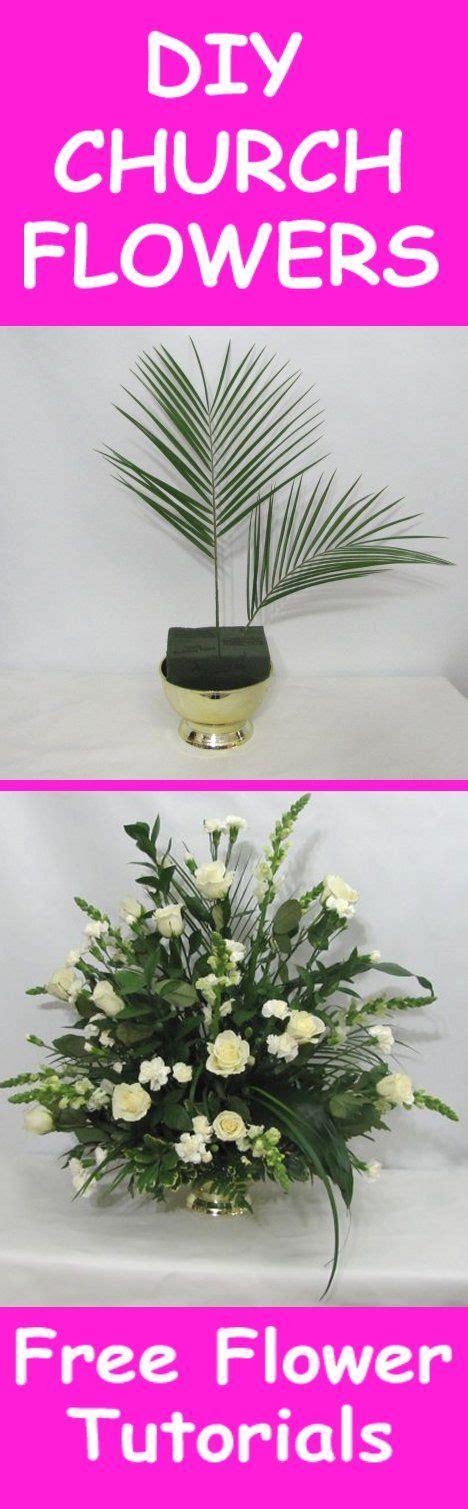 church wedding flowers easy diy flower tutorials learn