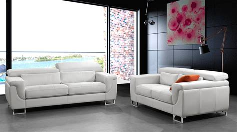 canapes cuir blanc canape design cuir blanc