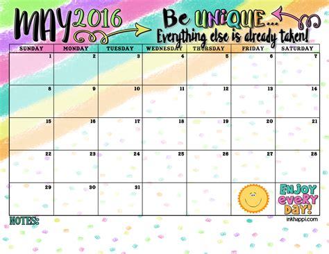 summer planning calendars september may 2016 calendar and print inkhappi