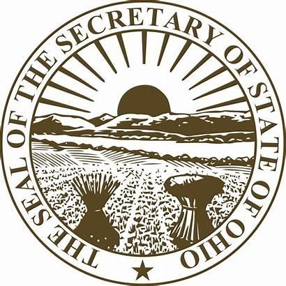Ohio Secretary State Svg Seal Wikipedia Vector