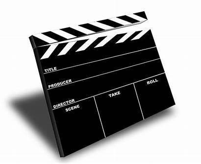 Clip Slate Camera Film Clipart Board Scene
