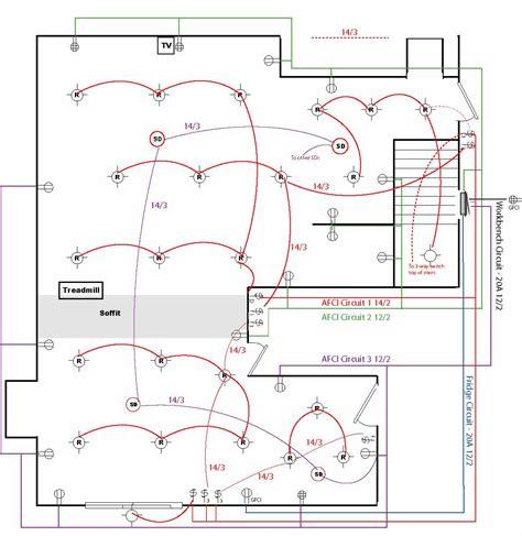 basement wiring diagram   service sf