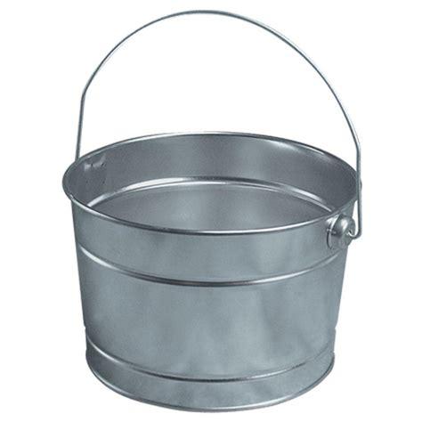 Kitchen Storage Ideas Diy - leaktite 2 5 qt metal pail 210650 the home depot