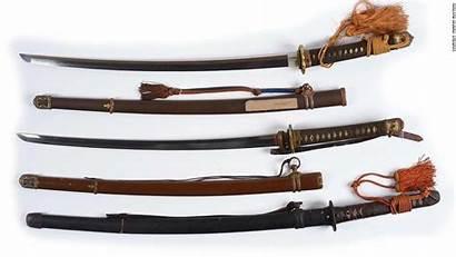 Samurai Swords Antique Guns Bucks Fetched