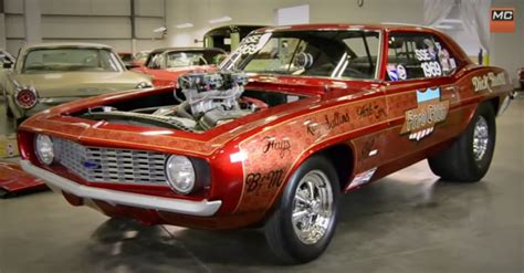 the first 1969 chevrolet camaro zl1 ever built cars