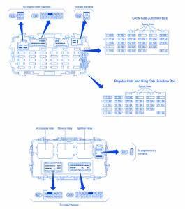 Nissan Frontier 2001 Fuse Box  Block Circuit Breaker